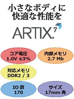XC7A50T-1FTG256C